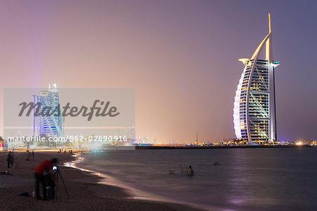 Middle East, United Arab Emirates, Dubai, Burj Al Arab Hotel