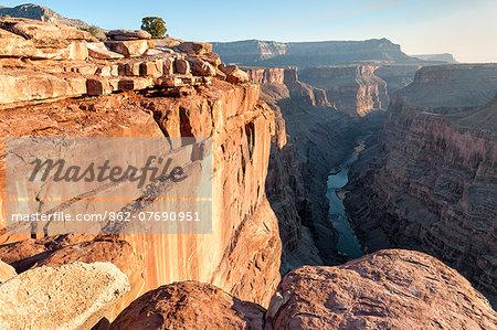 United States of America, Arizona, Grand Canyon, Toroweap Overlook