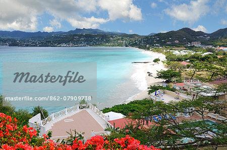 Grand Anse Beach, Saint George, Grenada, Caribbean