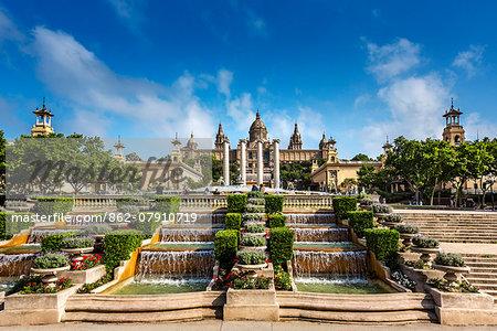 Museum, Palau Nacional, Barcelona, Catalonia, Spain