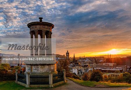 Europe, Scotland, Edinburgh, Carlton Hill