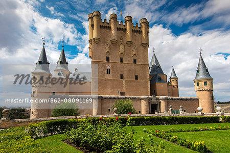 Alcazar, Segovia, Castile and Leon, Spain