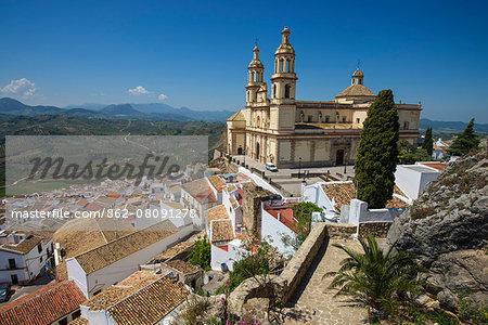 San Jose church, Olvera, Andalusia, Spain