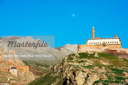 Turkey, Eastern Anatolia, Dogubayazit, Ishak Pacha Palace (Ishak Pasa Sarayi), UNESCO site