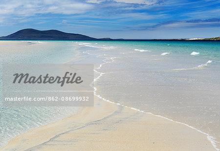 Scotland, Isle of Harris. Luskentyre beach in South Harris.