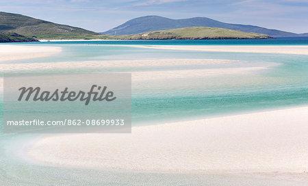 Scotland, Isle of Harris. Luskentyre bay in South Harris.