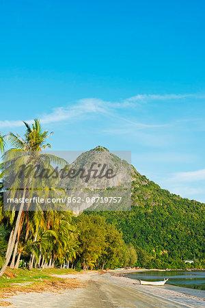 South East Asia, Thailand, Prachuap Kiri Khan, Ao Manao beach