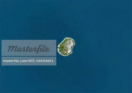 Nauru, True Colour Satellite Image