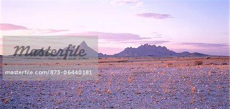 Spitkoppe Region Namibia