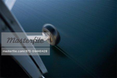 Close-Up of Seaplane Landing on Water, Lake Kariba, Zambia Africa