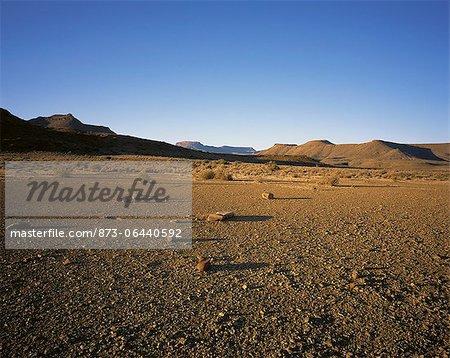 Arid Landscape Karoo National Park Western Cape, South Africa Africa