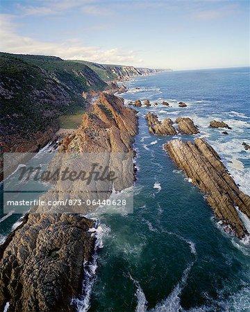 Coastline Along Otter Trail Tsitsikamma Coastal National Park Eastern Cape, South Africa
