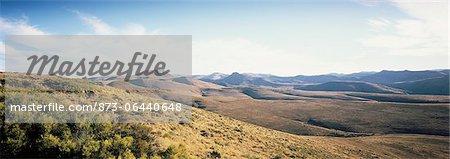 Landscape Near Cradock Mountain Zebra National Park Eastern Cape, South Africa