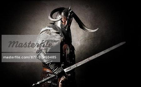 Viking in studio