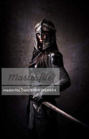 Woman Knight warning