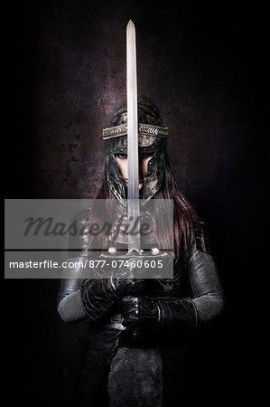 Female knight warning