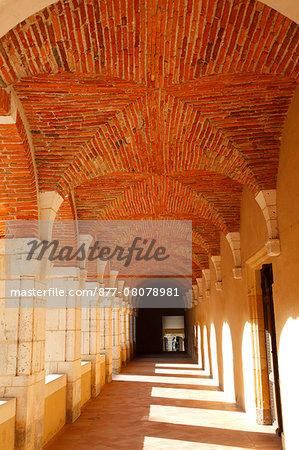 France, Aquitaine Landes (40), Saint Sever, abbatial church  (Unesco world heritage) the cloister