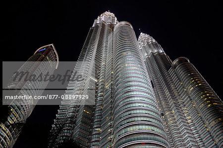South-East Asia, Malaysia, Kuala Lumpur, Petronas towers