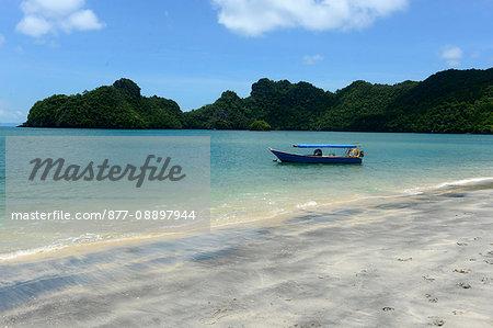 South-East Asia, Malaysia, Langkawi archipelago, the beach