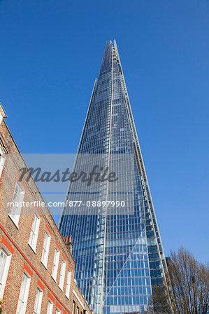 England, London, Southwark, The Shard (architect: Renzo Piano)