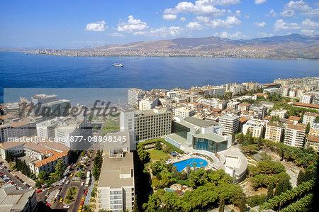 Turkey, Aegean Coast, province of Izmir, Izmir, general view