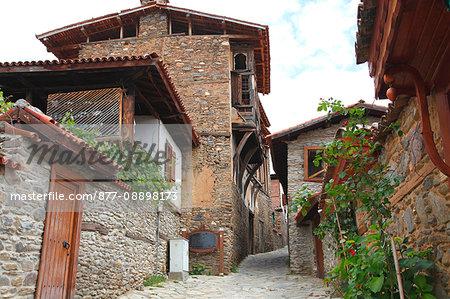 Turkey, province of Izmir, Odemis district, village of Birgi, traditional Ottoman house