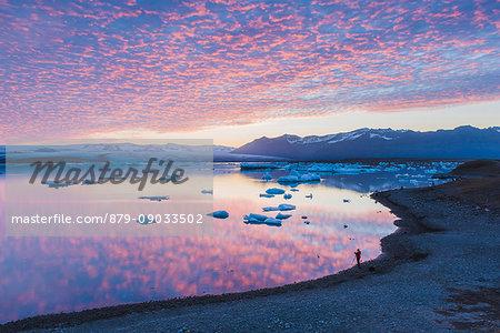 Jokulsarlon glacier lagoon, East Iceland.
