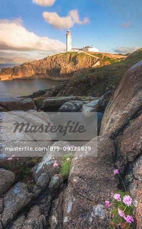 Fanad Head (Fánaid) lighthouse, County Donegal, Ulster region, Ireland, Europe.