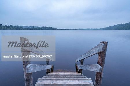 Sachsenkam, Bavaria, Germany, Europe. The Kirchsee