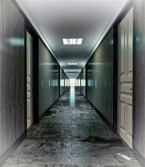 Dark, mystical  corridor  illustration concept Stock Photo - Royalty-Free, Artist: vicnt, Image code: 400-06076349