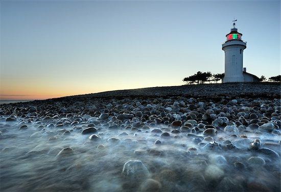 Lighthouse in Denmark called sletterhage Stock Photo - Royalty-Free, Artist: ckkeller, Image code: 400-06176267