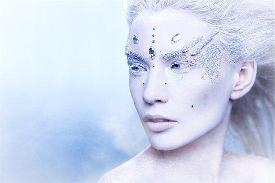 Snow Queen Stock Photo - Royalty-Free, Artist: VladimirKolens, Image code: 400-07621018
