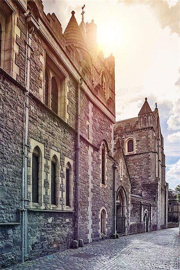 medieval irish castle in Dublin, Ireland Stock Photo - Royalty-Free, Artist: unkreatives, Image code: 400-08297682