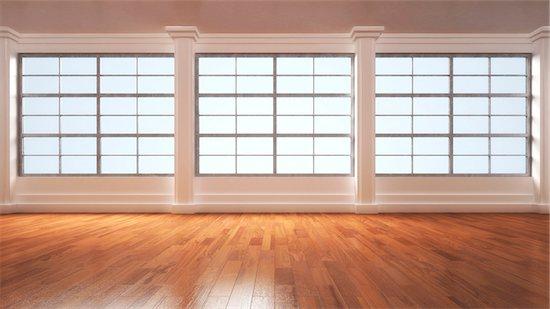 3D-Illustration of Empty Room Stock Photo - Premium Royalty-Free, Artist: Huber-Starke, Image code: 600-06808788