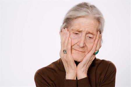 Image of: Stock Sad Elderly People Portrait Of Woman Stock Photo Premium Royaltyfree Code Masterfile Sad Elderly People Stock Photos Page Masterfile