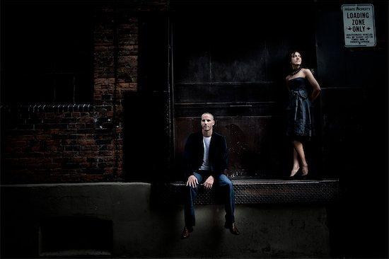 Couple, Toronto, Ontario, Canada Stock Photo - Premium Royalty-Free, Artist: Ikonica, Image code: 600-03682168