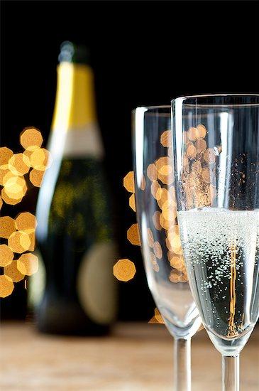 Champagne Stock Photo - Premium Royalty-Free, Image code: 614-06002050
