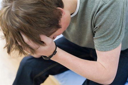 Heartbroken Boy Crying Stock Photos Page 1 Masterfile
