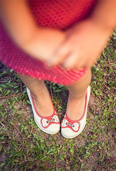 Little girls feet Stock Photo - Premium Royalty-Free, Image code: 618-08509889