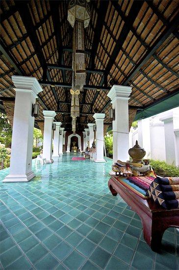 Thailand, Chiang Mai, wat Pouckchang Stock Photo - Premium Royalty-Free, Image code: 610-05841849