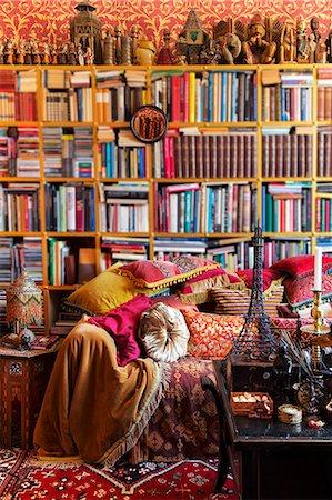 4 Images For Bohemian Bookshelf