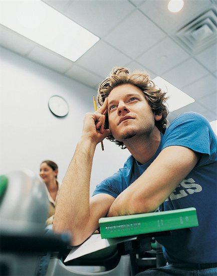 Students Listening During Seminar Stock Photo - Premium Royalty-Free, Image code: 6106-07018109