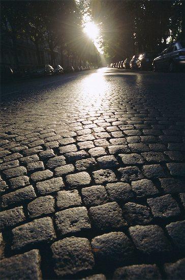 Cobbles, Montmartre, Paris, France, Europe Stock Photo - Premium Royalty-Free, Image code: 6119-08740355