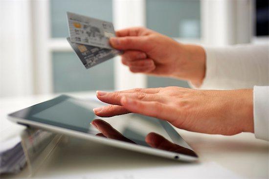 Credit Card Comparison Stock Photo - Premium Royalty-Free, Image code: 613-07673997