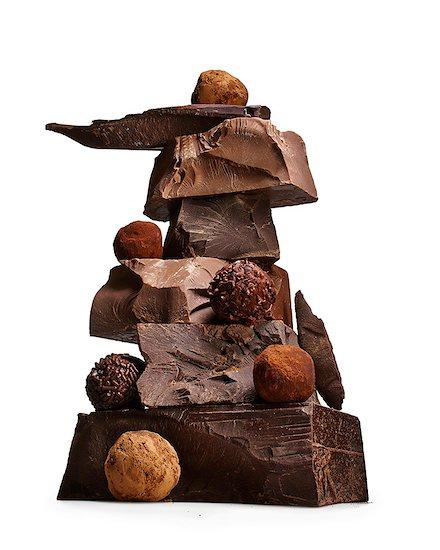Chocolate Stock Photo - Premium Royalty-Free, Image code: 613-08057101
