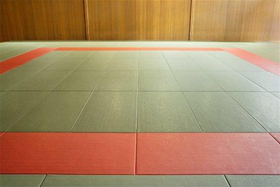 Empty Judo Dojo Stock Photo - Premium Royalty-Free, Image code: 622-00947302