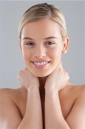 Female Neck Anatomy Stock Photos Page 1 Masterfile