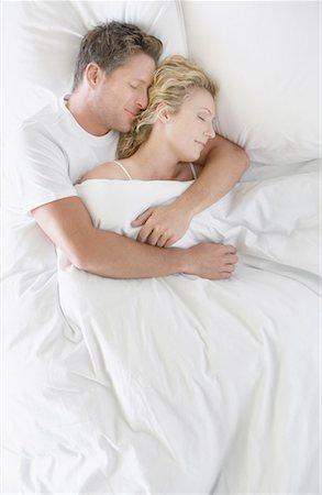 Romantic Pic Husband Wife Sleep Stock Photos Page 1 Masterfile