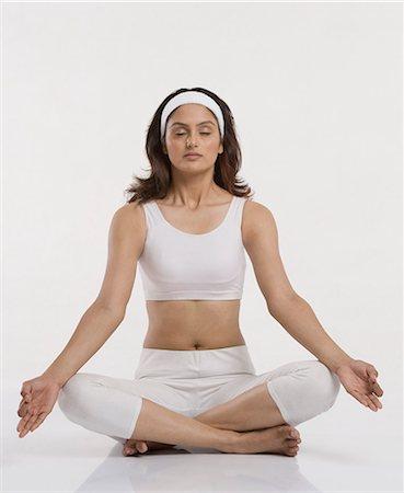 Indian Female Yoga Stock Photos Page 1 Masterfile