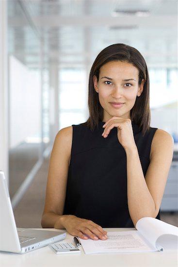 Confident businesswoman, portrait Stock Photo - Premium Royalty-Free, Image code: 632-05400931